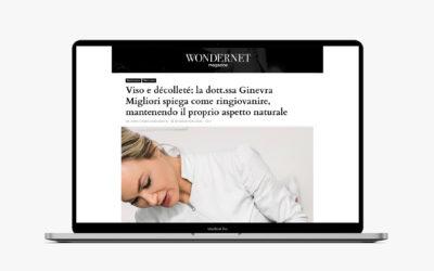 Viso e décolleté: la dott.ssa Ginevra Migliori spiega come ringiovanire, mantenendo il proprio aspetto naturale